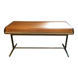 George Nelson for Herman Miller Vintage Action Office 1 Rolltop Desk For Sale