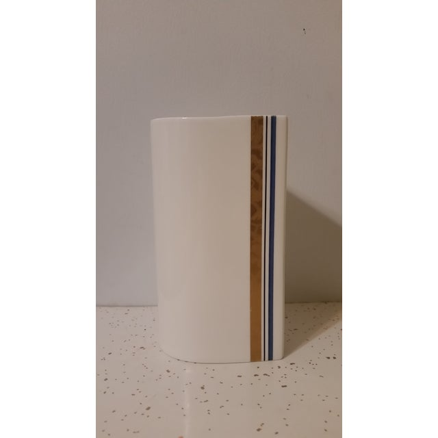Michael Lax for Mikasa Bone China Vase - Image 5 of 6