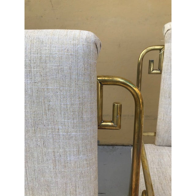 Mastercraft Greek Key Dining Chairs - Set of 6 For Sale In Miami - Image 6 of 8