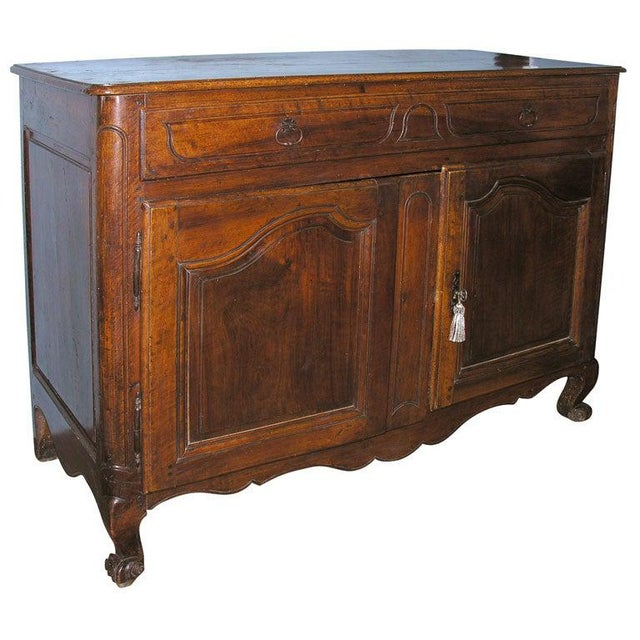 French Walnut Buffet For Sale - Image 11 of 11