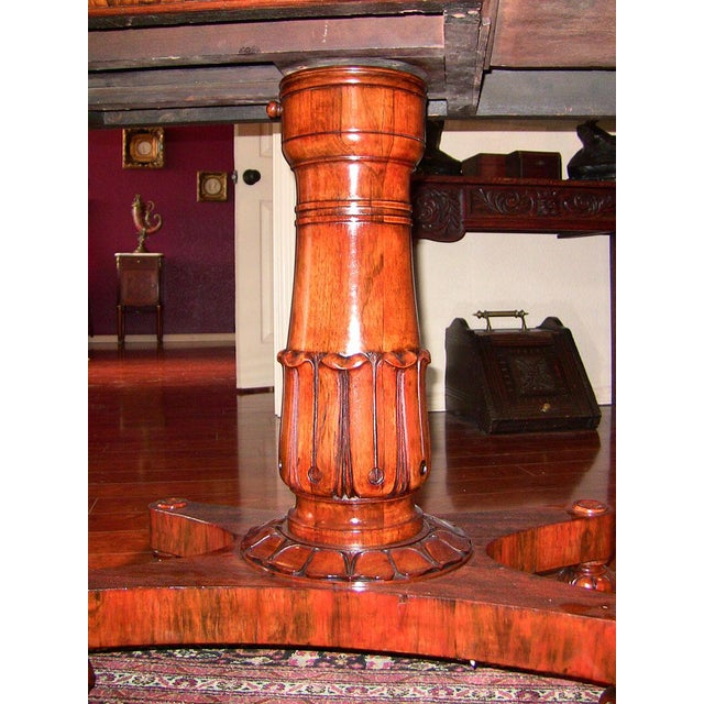 19th Century British William IV Telescopic Side Table in the Manner of Gillow's For Sale - Image 10 of 12