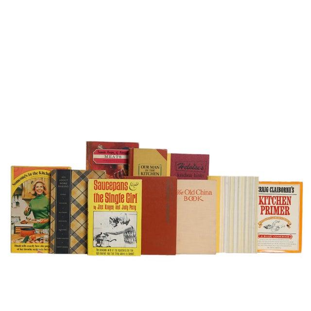 Sunset Cuisine Cookbook Set, S/20. Features a blend of twenty authentic midcentury books published 1933-1969. Includes a...