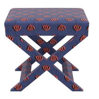 X Bench in Blue Lotus For Sale