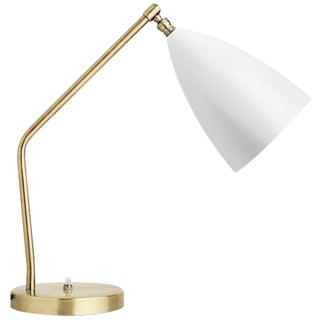Greta Magnusson Grossman 'Grasshopper' Table Lamp in White