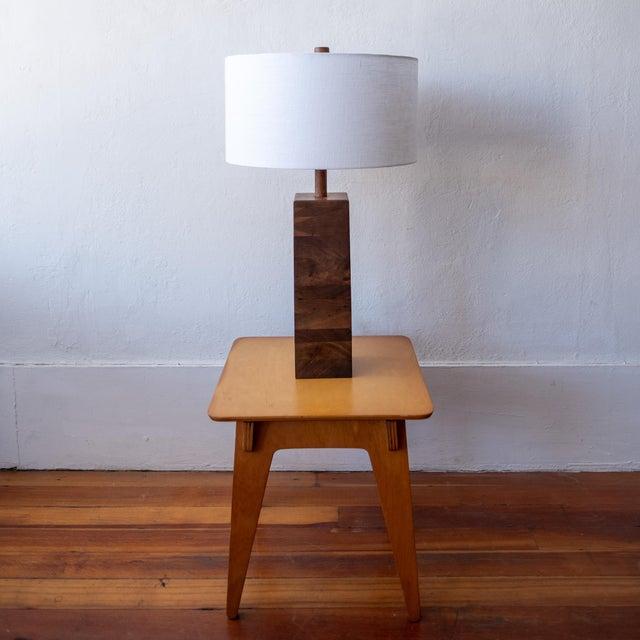 Mid-Century Modern Jane and Gordon Martz Wood Lamp For Sale - Image 3 of 8