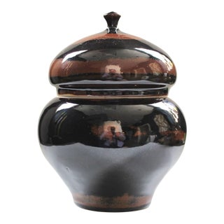 Lidded Studio Pottery Jar