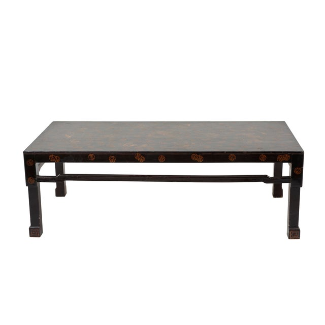Wood Early 20th Century Chinese Lacquer Coffee Table For Sale - Image 7 of 7