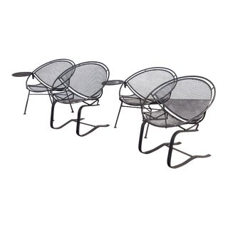 Salterini Radar Iron Patio Set - 7 Pc. Set For Sale