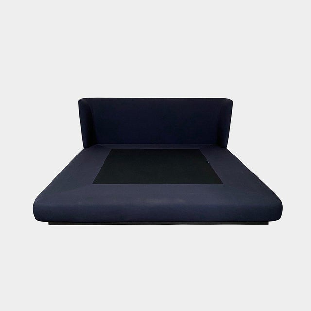 Navy Blue Modern Minotti 'Creed' Cal King Bedframe For Sale - Image 8 of 8