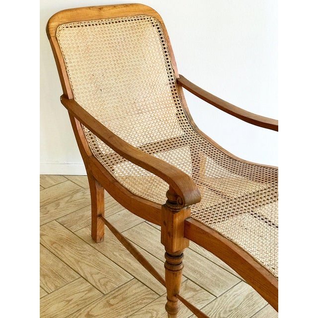 Early 20th Century Antique Bauer Plantation Chaise Lounge For Sale - Image 12 of 13