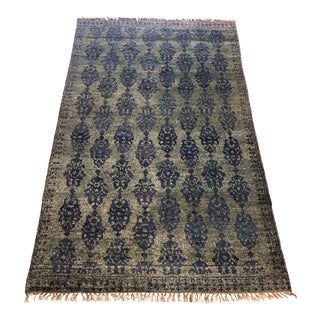 Anthropologie Overdyed Pericon Rug - 5′ × 8′ For Sale