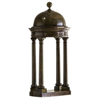 Antique Italian Walnut Model of Michelangelo's Baldachin for St. Peter's, circa 1870 For Sale