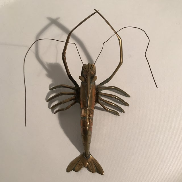Brass Lobster Sculpture For Sale In Charlotte - Image 6 of 9