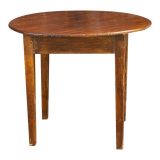 19th Century English Elm Table For Sale
