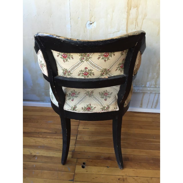 Italian Antique Arm Chair For Sale - Image 7 of 10