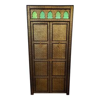 Moroccan Inlaid Rabat Door For Sale