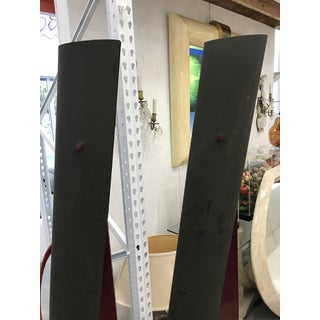 1970s Tall Post Modern Floor Lamps - a Pair Preview