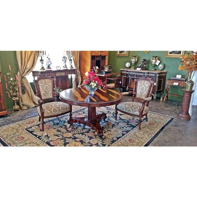 19c British Regency Tilt Top Center Table - Quality For Sale - Image 9 of 10