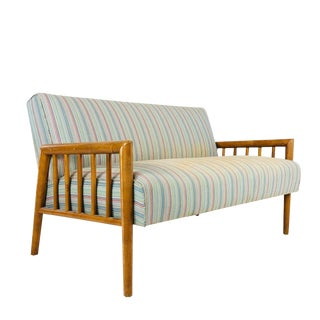 MId-Century Modern Settee by Conant Ball For Sale