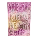 Image of Are You Kidding Me With This Abstract Painting by Virginia Chamlee For Sale