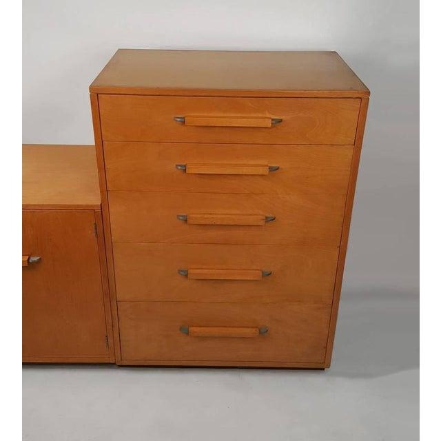 'Flexible Home Arrangement' Modular Birch Cabinet System by Eliel Saarinen - Image 6 of 8