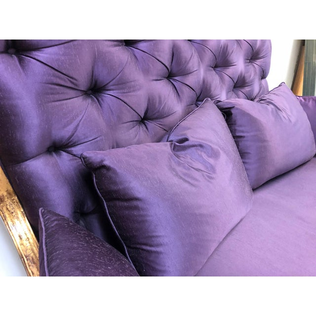 Christopher Guy Christopher Guy Tufted Loveseat For Sale - Image 4 of 11