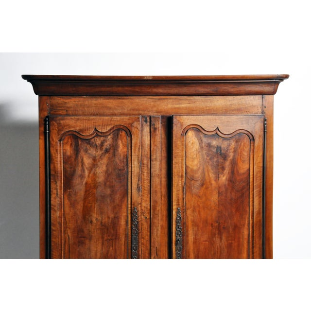 French Walnut Armoire For Sale - Image 4 of 13