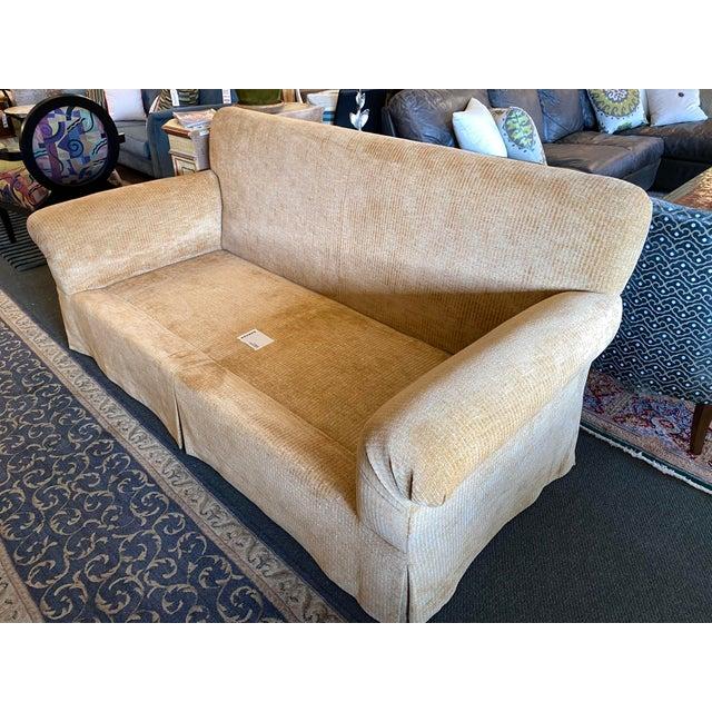 Belmar Studio Custom Roll-Arm Sofa For Sale - Image 4 of 13