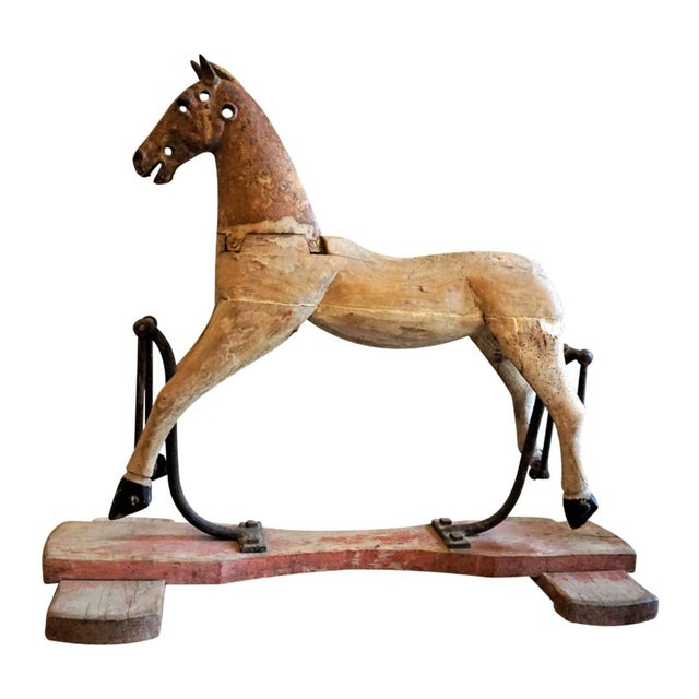 19th Century Wooden Horse For Sale - Image 11 of 11