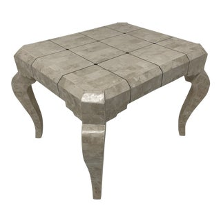 Art Deco Maitland - Smith Tessellated Stone Side Table For Sale