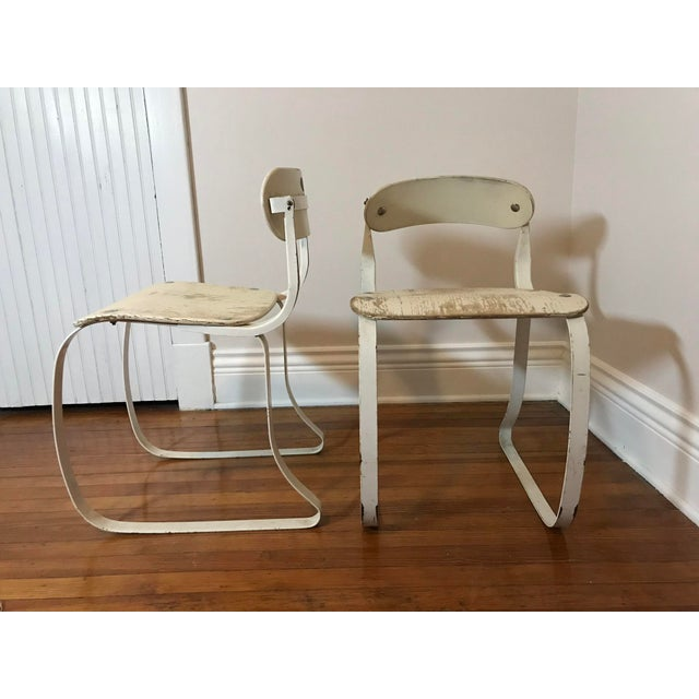 Industrial Ironite Health Chairs by Herman Sperlich - A Pair For Sale - Image 3 of 9