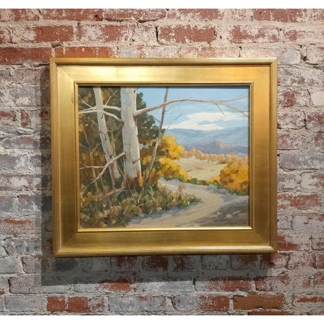 """Victor Matson """"Sycamore Trees"""" California Plein Air Landscape Oil Painting For Sale - Image 10 of 10"""