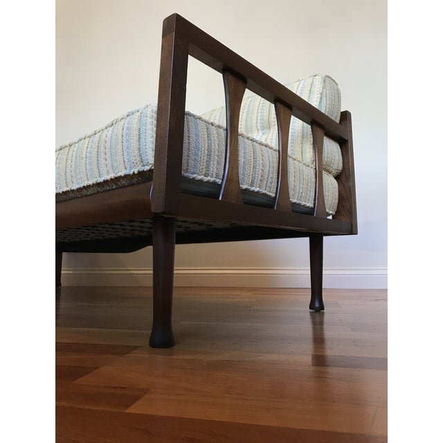 Selig Danish Modern Sofa Daybed Walnut MCM Selig Era Mid Century Modern For Sale - Image 4 of 13