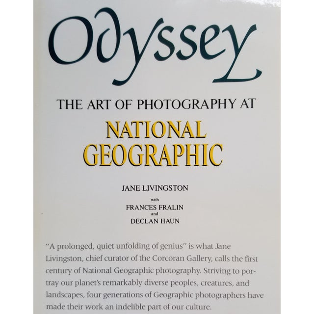 Odyssey, The Art of Photography at National Geographic. Published by Thomasson-Grant, Inc in 1988. First edition,...