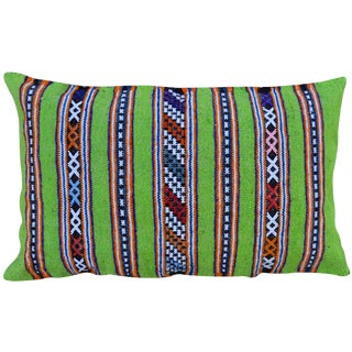 Late 20th Century MoroccanStriped Pillow For Sale