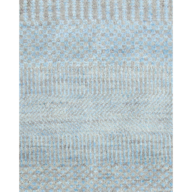 """Contemporary Contemporary Hand Loomed Area Rug 7' 11"""" x 9' 11"""" For Sale - Image 3 of 9"""