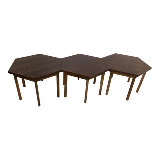 Paul McCobb for Lane Delineator Design Rosewood Tables - Set of 3
