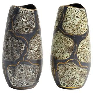 1960s Carstens Tonnieshof West German Vase For Sale