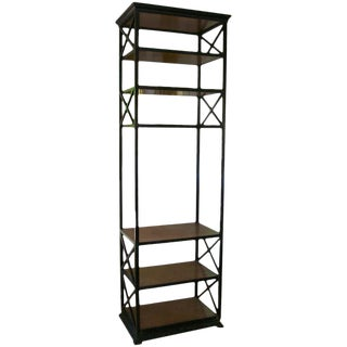 French Etagere/Bar in a Rustic Style For Sale