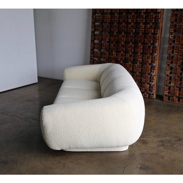 Bouclé Preview Furniture Company Sofa Circa 1975 For Sale - Image 7 of 13