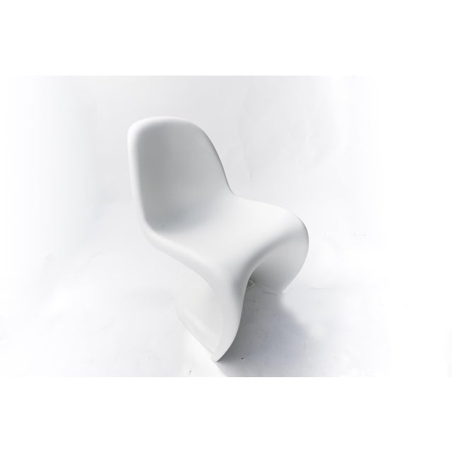 Mid-Century Modern The Panton Chairs for Vitra - a Pair For Sale - Image 3 of 11