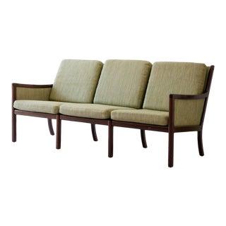 Vintage Rosewood Mid-Century Modern Sofa For Sale