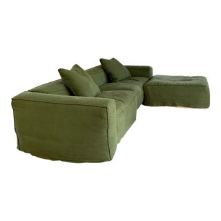 Bonaldo by Mauro Lipparini Peanut B Sofa - 5 Pieces For Sale