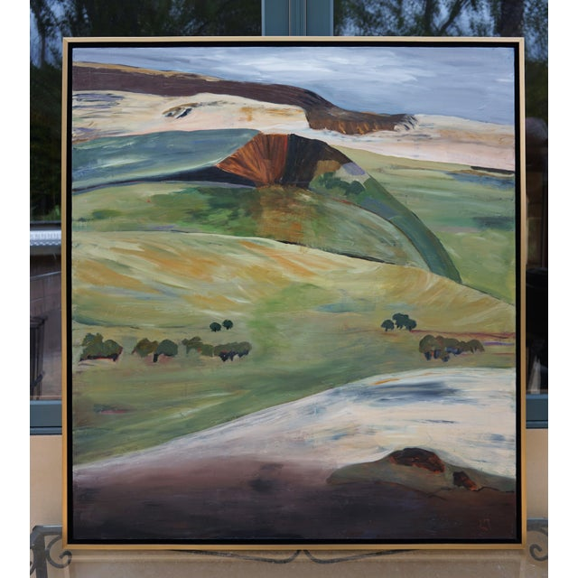 """Laurie MacMillan """"Mud Season, Volcano Country"""" Landscape For Sale In Los Angeles - Image 6 of 6"""