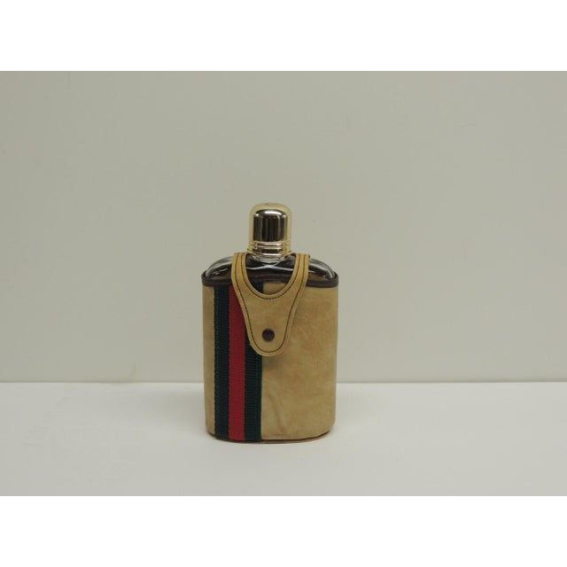 Vintage Traveling Glass Flask - Image 2 of 4