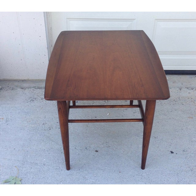Danish Mid Century Modern Surfboard Side Table - Image 4 of 7