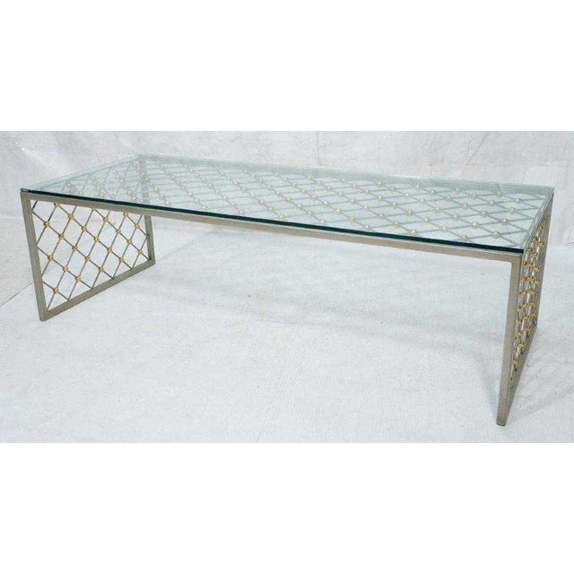 """""""Tour Eiffel"""" Coffee Table After Jean Royere For Sale In Atlanta - Image 6 of 9"""