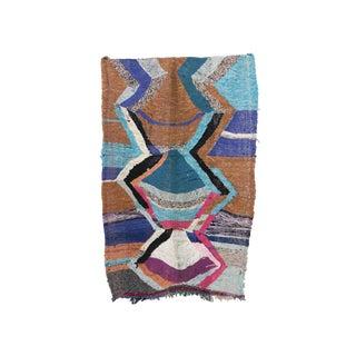 "Kilim Boucherouite Moroccan Kilim, 3'11"" X 5'9"" Feet"