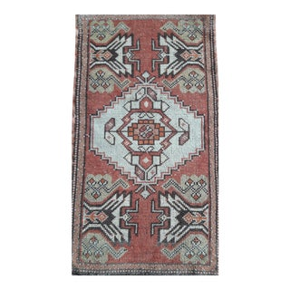 """1970s Vintage Turkish Rugs-1'7'x3'5"""" For Sale"""