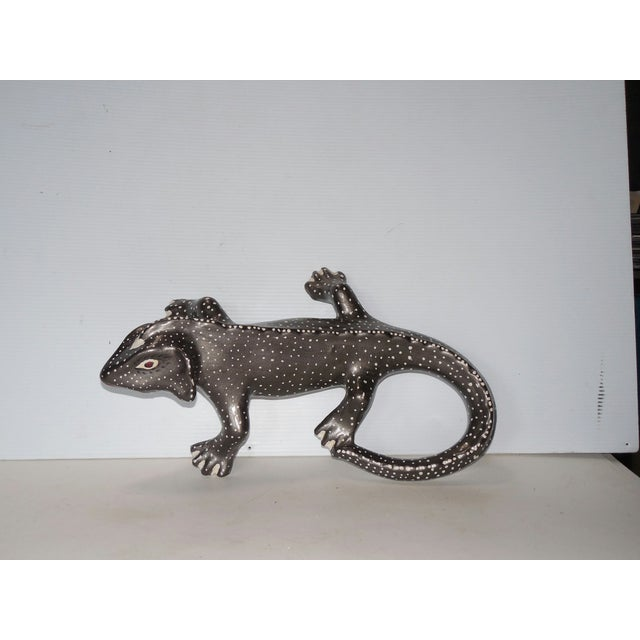 Hand Painted Ceramic Gecko - Image 4 of 6